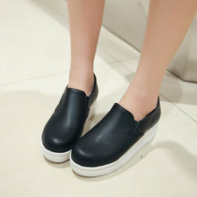 Load image into Gallery viewer, Simple Platform Shoes High Heels Women 3683