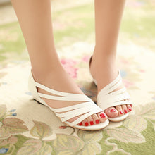 Load image into Gallery viewer, Summer Flats Sandals Plus Size Shoes Woman