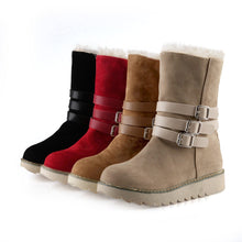 Load image into Gallery viewer, Snow Boots with Fur Women Shoes Fall|Winter 2631