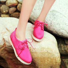 Load image into Gallery viewer, Candy Colors Lace Up High Heels Women Shoes 8692