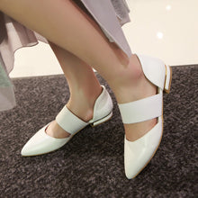 Load image into Gallery viewer, Pointed Toe Women Sandals Flats Shoes