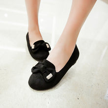 Load image into Gallery viewer, Fashion Bow Round Toe Flats Women Shoes 4410