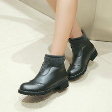 Load image into Gallery viewer, Wool Ankle Boots Women Shoes Fall|Winter 6858