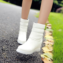 Load image into Gallery viewer, Round Toe Wedges Boots Women Shoes Fall|Winter 7765