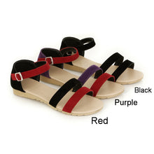 Load image into Gallery viewer, Fashion Sandals Women Flats Ankle Straps Shoes 4857
