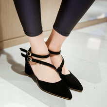 Load image into Gallery viewer, Fashion Pointed Toe High Heels Sandals Women Pumps Shoes