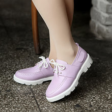 Load image into Gallery viewer, Fashion Lace Up Flats Women Shoes 6455