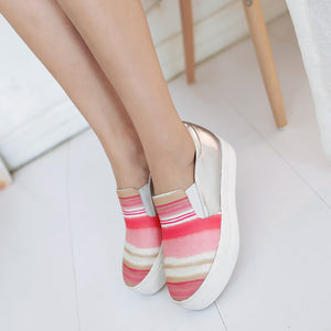 Colormactch High Heels Women Platform Shoes 7676