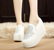 Load image into Gallery viewer, Rhinestone Wedegs Shoes Platform Women High Heels  4198