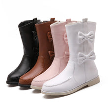 Load image into Gallery viewer, Bow Boots Women Shoes Fall|Winter 9518
