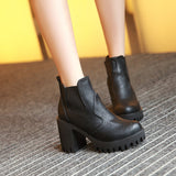 Ankle Boots High Heels Women Shoes Fall|Winter 7770