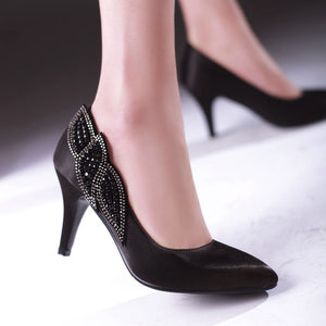Ankle Straps Chunky Heel Pumps Platform High Heels Women Shoes 7821