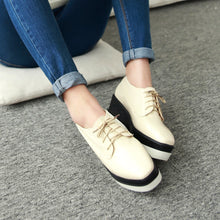 Load image into Gallery viewer, Lace Up Platform High Heels Fashion Women Shoes 6879