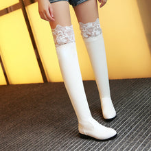 Load image into Gallery viewer, Lace Over the Knee Boots Shoes Fall|Winter 8171