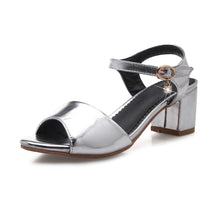 Load image into Gallery viewer, Ankle Straps Sandals Ladies Pumps High-heeled Shoes