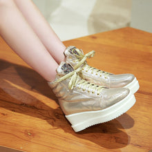 Load image into Gallery viewer, Sequined Ankle Boots Women Platform Shoes Fall|Winter 5695