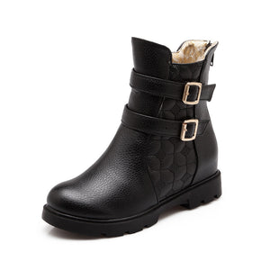 Buckle Ankle Boots Women Shoes Fall|Winter 9741