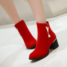 Load image into Gallery viewer, Ankle Boots High Heels Women Shoes Fall|Winter 7785