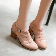 Load image into Gallery viewer, Fashion Sandals Pumps Platform High Heels Women Dress Shoes 3447