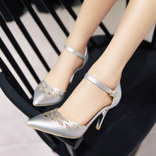 Load image into Gallery viewer, Party Sandals Pumps Spike High-heeled Shoes Woman