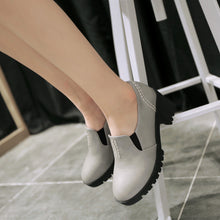 Load image into Gallery viewer, Chunky Heel Pumps Platform High Heels Women Shoes 5640