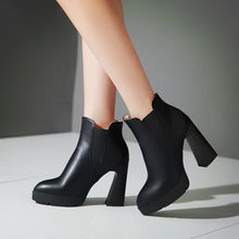 Load image into Gallery viewer, Pointed Toe Ankle Boots High Heels Women Shoes Fall|Winter 6297