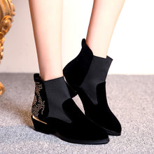 Load image into Gallery viewer, Studded Ankle Boots High Heels Women Shoes Fall|Winter 2376