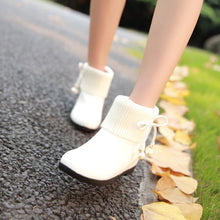 Load image into Gallery viewer, Wool Ankle Boots Women Shoes Fall|Winter 7196