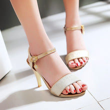 Load image into Gallery viewer, Sexy Spike Sandals Pumps High-heeled Shoes Woman Plus Size