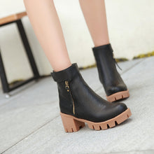 Load image into Gallery viewer, Zipper Ankle Boots Women Shoes Fall|Winter 11191501