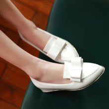 Load image into Gallery viewer, Bow Wedges Platform High Heels Women Shoes 9796