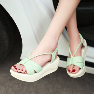 Fashion Sandals Pumps Platform High Heels Women Shoes 2583