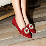 Pearl Women High Heel Shoes Black, Red, Beige New Arrive Pumps 2016