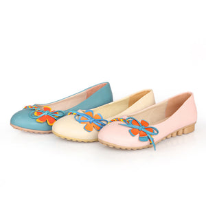 Comfortable Women Flats Casual Shoes 1081