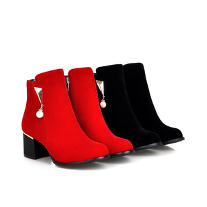 Ankle Boots High Heels Women Shoes Fall|Winter 7785