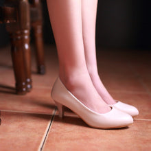 Load image into Gallery viewer, Simple Pumps Platform High Heels Women Shoes 4245