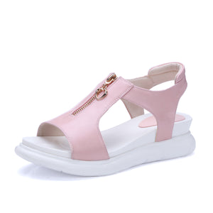 Women Sandals Polyurethane Outsole Platform Shoes