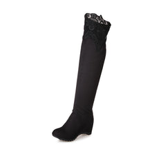 Load image into Gallery viewer, Lace Over the Knee Boots Women Shoes Fall|Winter 6044