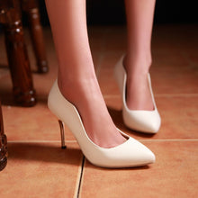 Load image into Gallery viewer, Sexy Club Pumps Thin Heel High Heels Fashion Women Shoes 9289