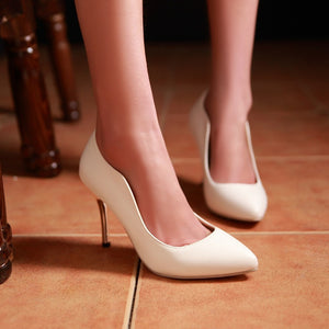 Sexy Club Pumps Thin Heel High Heels Fashion Women Shoes 9289