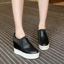Load image into Gallery viewer, Women Platform Wedges Shoes High Heel Loafers