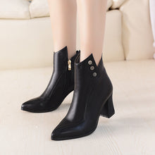 Load image into Gallery viewer, Studded Ankle Boots High Heels Shoes Woman