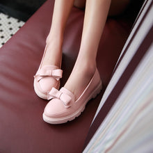 Load image into Gallery viewer, Bow Pumps Platform High Heels Women Shoes 8043