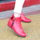 Zipper Ankle Boots Women Shoes New Arrival