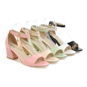 Women's Pumps Ankle Straps High Heels Sandals Dress Shoes