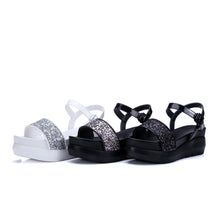 Load image into Gallery viewer, Sequin Wedges Sandals Women Platform Shoes Woman