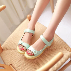 Summer Women Sandals Flats Shoes 2016 3288