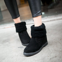 Load image into Gallery viewer, Wool Wedges Boots Women Shoes Fall|Winter 7381