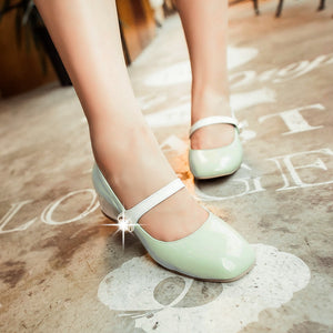 Mary Jane Pumps Platform High Heels Women Shoes 5316