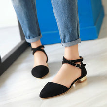 Load image into Gallery viewer, Summer Sandals Toe Caps Plus Size Shoes Woman